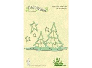 Leane Creatief - Lea'bilities Lea'bilities, gofrado y cortar, paisaje y árboles