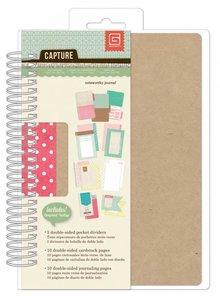 Scrapbooking ... Capture - Spiral Journal bog