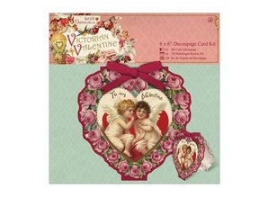 KARTEN und Zubehör / Cards 6 x 6 Decoupage Card Kit - Collection Victorian Cards
