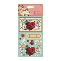 Mini Decoupage - Victorian Heart