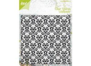Joy!Crafts und JM Creation Klare stempler, gamle tapet, Joy Crafts