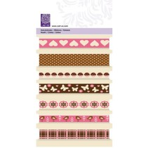"Decorative ribbons, ""sweet"" Cart-Us, 7 x 1mtr"
