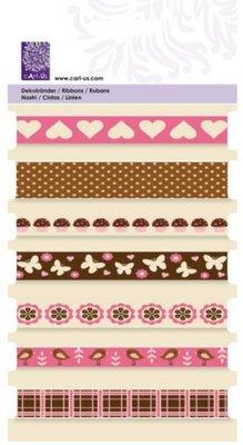 "Cart-Us Decorative ribbons, ""sweet"" Cart-Us, 7 x 1mtr"