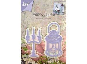 Joy!Crafts und JM Creation Prægning og udskæring mat, lysestager og lampe