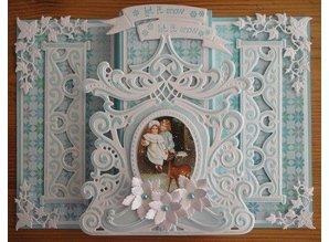 Marianne Design Marianne Design, presning og prægning stencil, Petras spejl