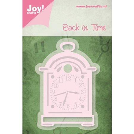 Joy!Crafts und JM Creation Präge- und Schneideschablone,Pendeluhr