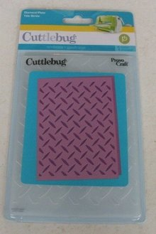 embossing Präge Folder Embossing folders, Diamond plate, A6, 14.8 x 10.5cm