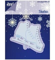 Joy!Crafts und JM Creation Goffratura e taglio stuoia, pattini da ghiaccio