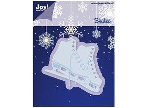 Joy!Crafts und JM Creation Estampación y corte estera, patines de hielo