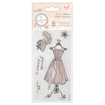 Clear stamps, Dress - Bellisima