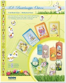 BASTELSETS / CRAFT KITS: Craft wallet 3D Easter