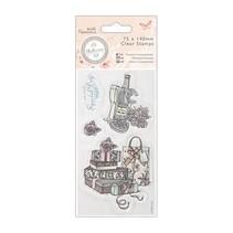 Clear stamps, 75 x 140mm - Bellisima - Celebrate