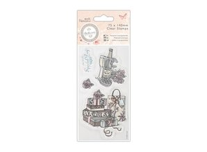 Docrafts / Papermania / Urban Clear stamps, 75 x 140mm - Bellisima - Celebrate
