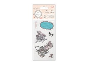 Docrafts / Papermania / Urban Clear stamps, 75 x 140mm - Bellisima - Shoes & Bags