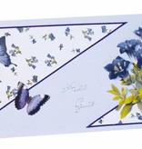 BILDER / PICTURES: Studio Light, Staf Wesenbeek, Willem Haenraets 3D die cut sheet bluebells, gentian, iris, A4