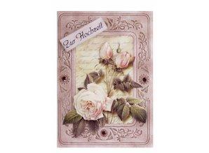 KARTEN und Zubehör / Cards 3 carte con telaio in rilievo A6