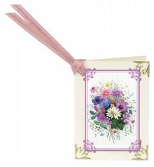 REDDY Rub, 16 ramos de flores para tarjetas mini + 16 Mini-tarjetas