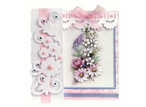 BASTELSETS / CRAFT KITS: Romantisk foldning, blomsterbuketter