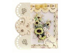 BASTELSETS / CRAFT KITS: Romantische Faltkarten, Blumenbouquets