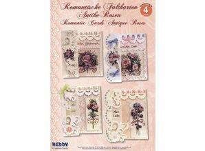 BASTELSETS / CRAFT KITS: Kit Craft: plegado Romántico, Antique Rose