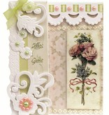 BASTELSETS / CRAFT KITS: Kit Craft: plegado Romántico, Antique Rose