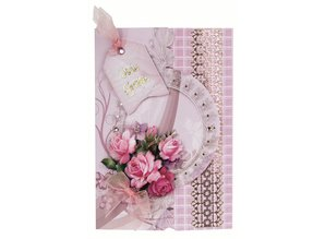 Exlusiv Bastelset: Floral card in retro style