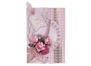 Exlusiv Bastelset: Floral kort i retro stil