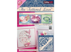 Tattered Lace NEW: Magazine nr.12 to the Tattered Lace cutting and embossing stencils
