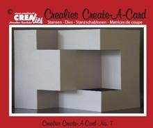 Crealies und CraftEmotions NYHED: spåntagning matricer til pop-up-kort!