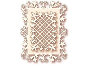 Wild Rose Studio`s NEW: Metal cutting dies, wild rose Studio`s the Specialty - Floral Frame