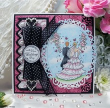 Wild Rose Studio`s Stamp set set At the altar, size A7, Clear stamps
