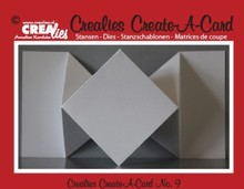 Crealies und CraftEmotions NOVITA ': taglio di metalli muore per schede pop-up!