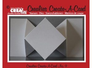 Crealies und CraftEmotions NOVITA ': taglio di metalli muore per schede pop-up!