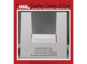 Crealies und CraftEmotions NEW: metal cutting dies, for Pop-Up Cards!