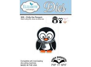 Elisabeth Craft Dies NEW: Metal cutting dies, Elizabeth Craft Designs, Chilly the Penguin by Karen Burnisto