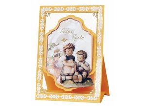 "BASTELSETS / CRAFT KITS: 3D NoteCards: ""MI Hummel"", for 4 cards"