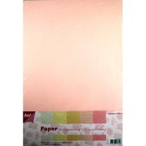 Paper Bluten papierset, 5x2st licht
