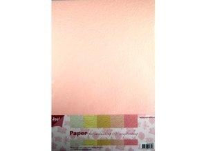 DESIGNER BLÖCKE  / DESIGNER PAPER Paper bleeding Papierset, 5x2st light