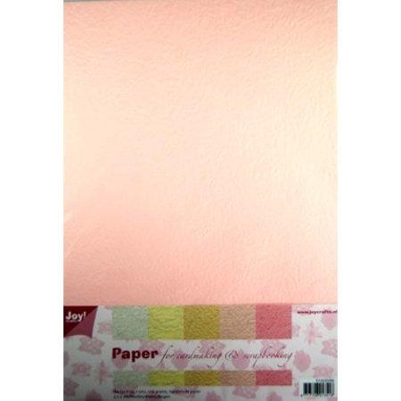 DESIGNER BLÖCKE  / DESIGNER PAPER Papir blødning Papierset, 5x2st lys