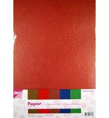 DESIGNER BLÖCKE  / DESIGNER PAPER Paper Blossom papierset, 5 x 2 Bogen (A4) warme farbe