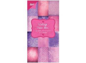 Joy!Crafts und JM Creation blocco della carta d'epoca