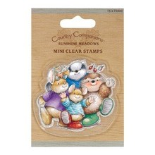 Yvonne Creations 75 x 75mm Mini Clear stamps - Country ledsagere