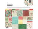 DESIGNER BLÖCKE  / DESIGNER PAPER Designers block, Basic Grey - Evergreen - Collection Pack