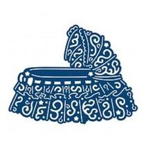 Skæring og prægning stencils, Tattered Lace, Cot