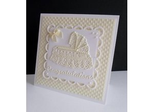 Tattered Lace Cutting and embossing stencils, Tattered Lace Cot
