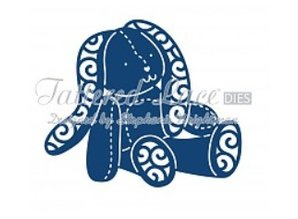 Tattered Lace Skæring og prægning stencils, Tattered Lace Baby Bunny Rabbit
