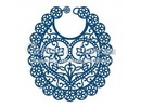 Tattered Lace Cutting and embossing stencils, Tattered baby bib