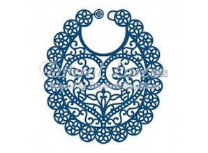 Tattered Lace Cutting and embossing stencils, Tattered Lace baby bib