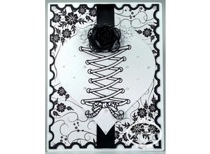 Tattered Lace Cutting and embossing stencils, Tattered All Laced Up