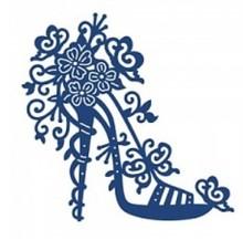 Tattered Lace Taglio e goffratura stencil Tattered Pizzo, tacco alto Charisma - unico disponibile!